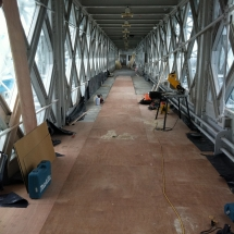 Tower Bridge Floor Restoration by Lee Chapel Floors Essex 11