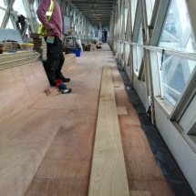 Tower Bridge Floor Restoration by Lee Chapel Floors Essex 7