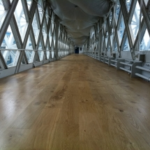 Tower Bridge Floor Restoration by Lee Chapel Floors Essex